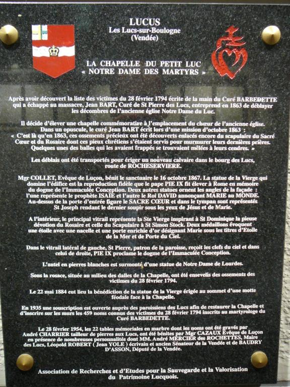 Sur les traces des guerres de Vendée et de la chouannerie bretonne P1030215