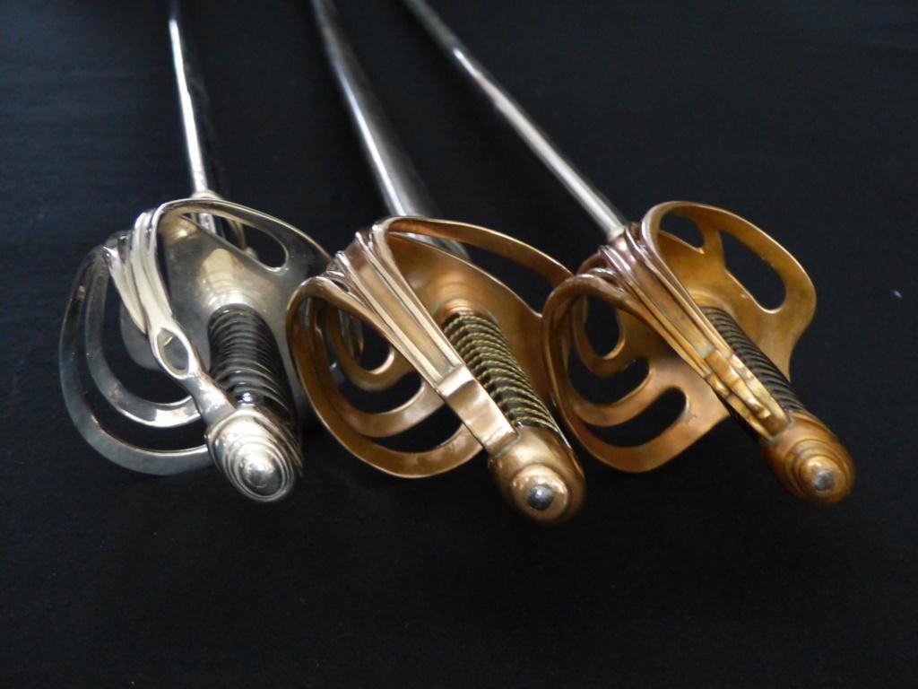 """Montures """"à la Nancy"""" : sabres fantaisie de fourbisseur inspiré du modèle 1882 P1140017"""