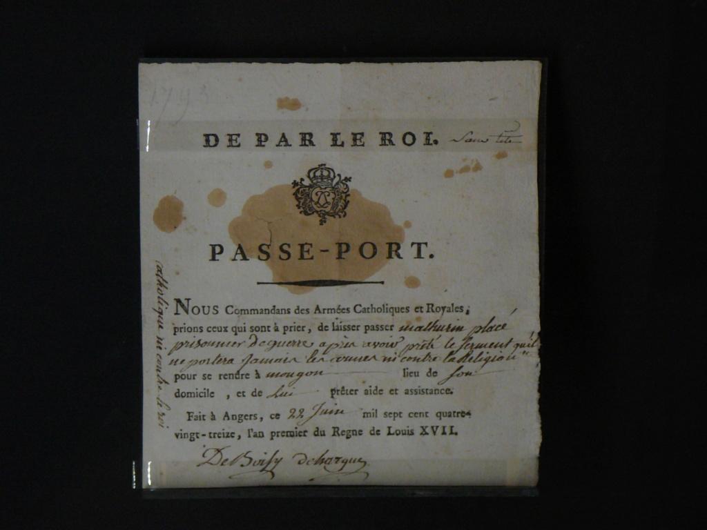 Sur les traces des guerres de Vendée et de la Chouannerie - Page 3 P1170312