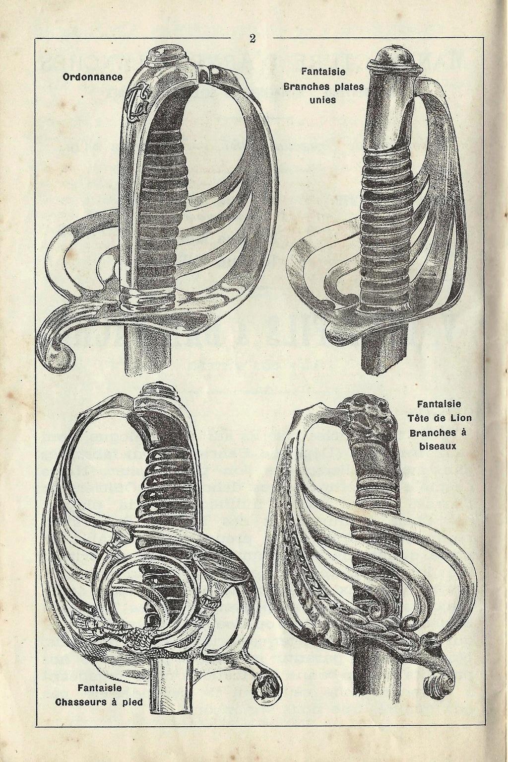 """Montures """"à la Nancy"""" : sabres fantaisie de fourbisseur inspiré du modèle 1882 Sabre_10"""