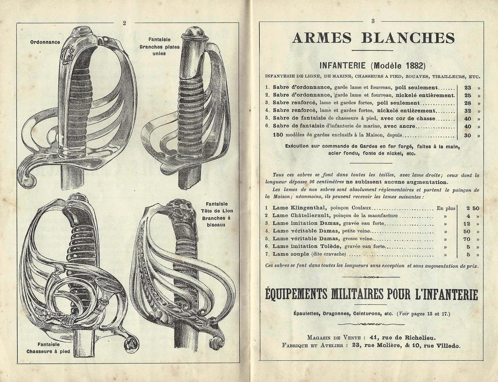 """Montures """"à la Nancy"""" : sabres fantaisie de fourbisseur inspiré du modèle 1882 Sabre_11"""