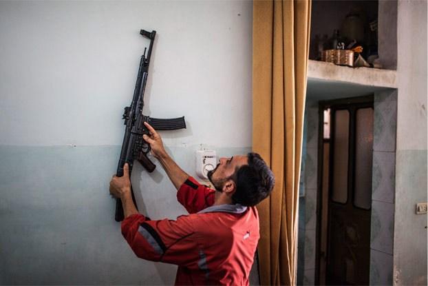 Des Sturmgewehr en Syrie ! Syria211
