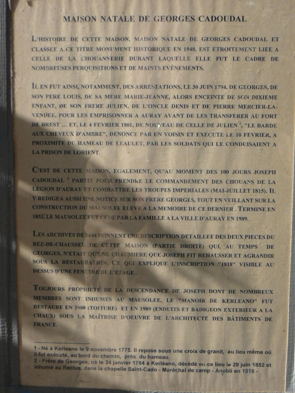 Sur les traces des guerres de Vendée et de la Chouannerie - Page 3 Visite20