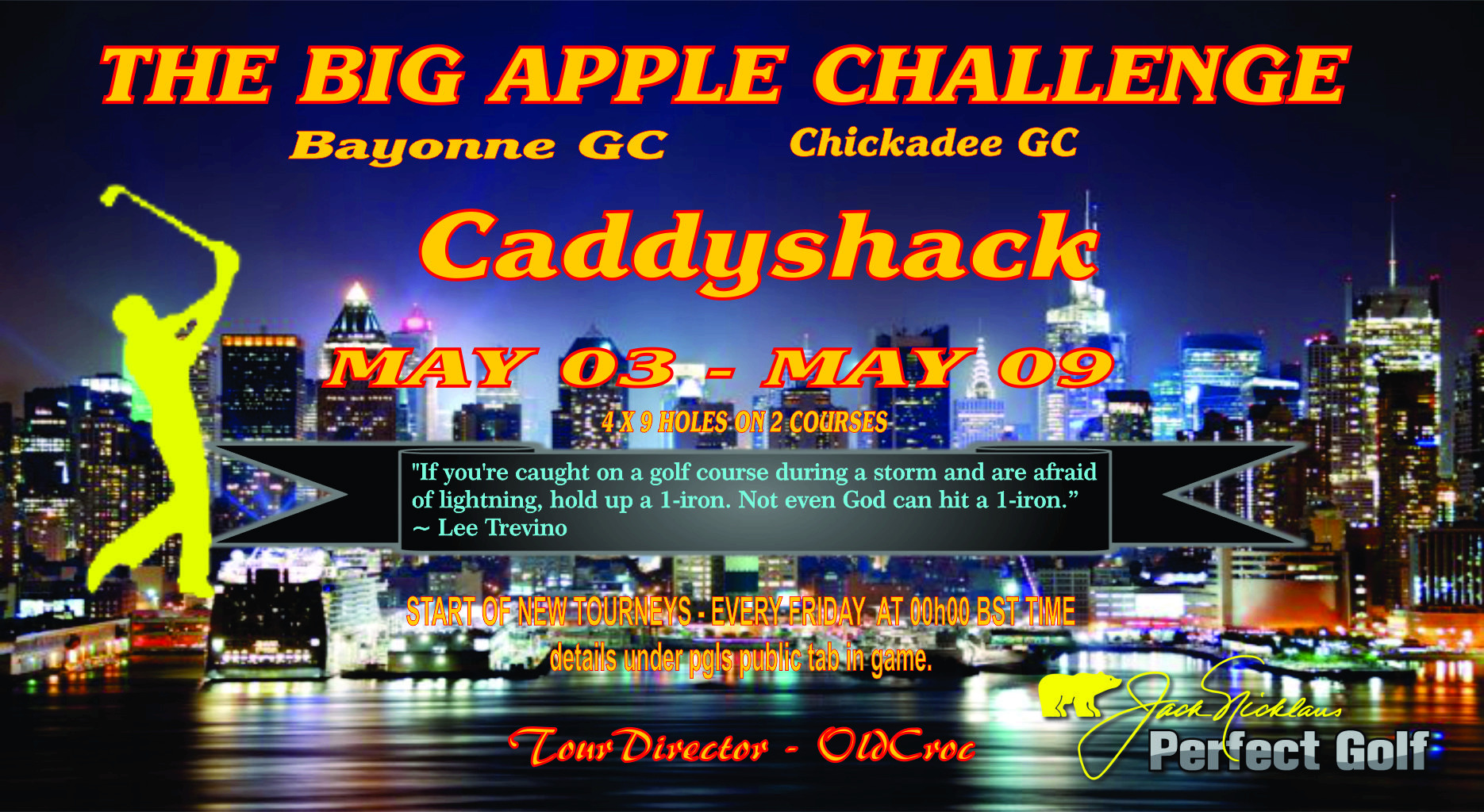 CaddyShack Weekly Tournament Bigapp10