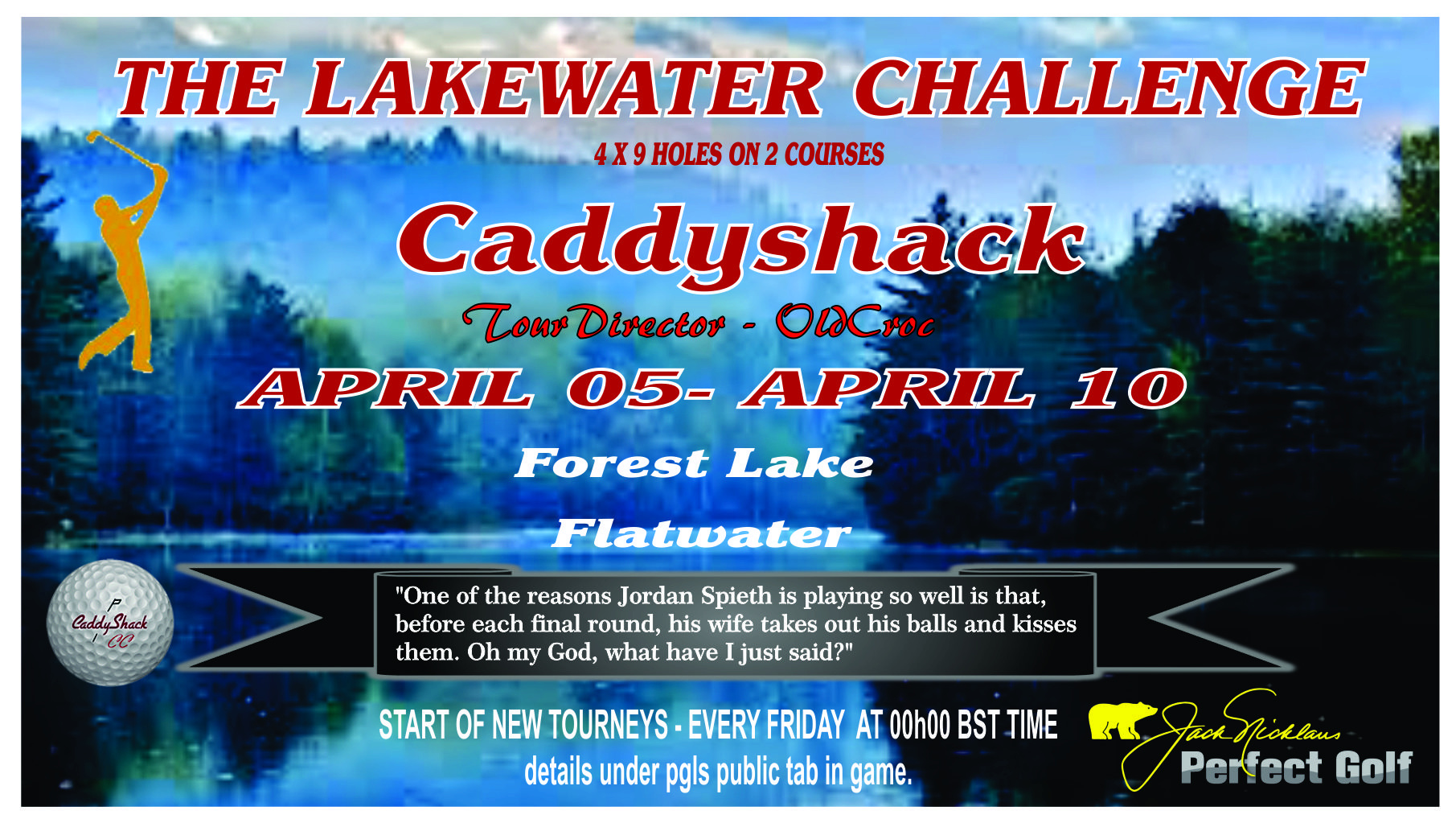 This weeks Tournament Lakewa10