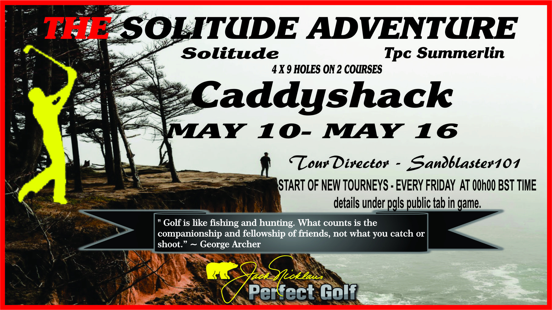 CaddyShack Weekly Tournament Solitu10
