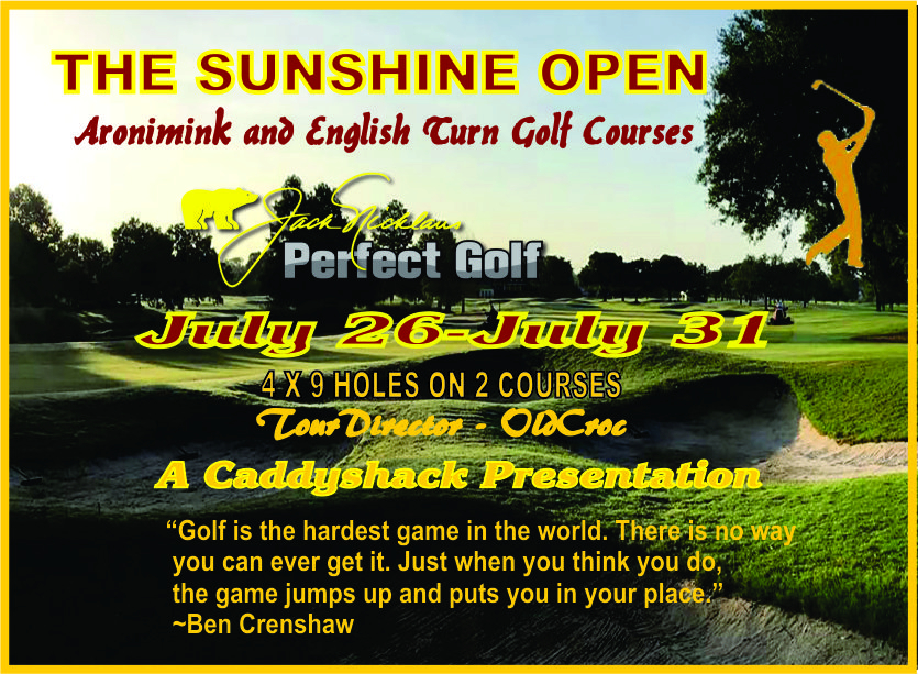 CaddyShack Weekly Tournament Sunshi11
