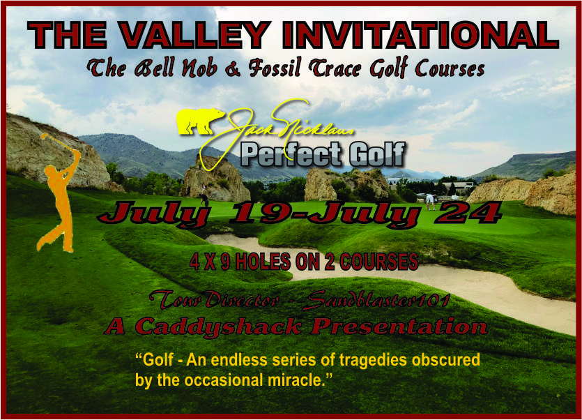 CaddyShack Weekly Tournament Valley10