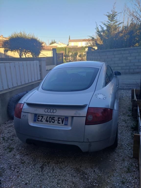 Audi tt mk1 99 180 stage 1+ éthanol Img_2015