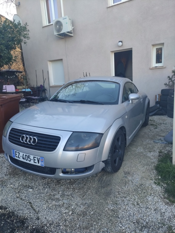 Audi tt mk1 99 180 stage 1+ éthanol Img_2017