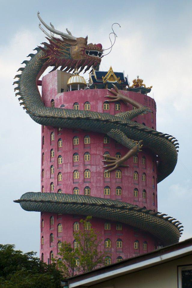 Le temple du dragon Drag310