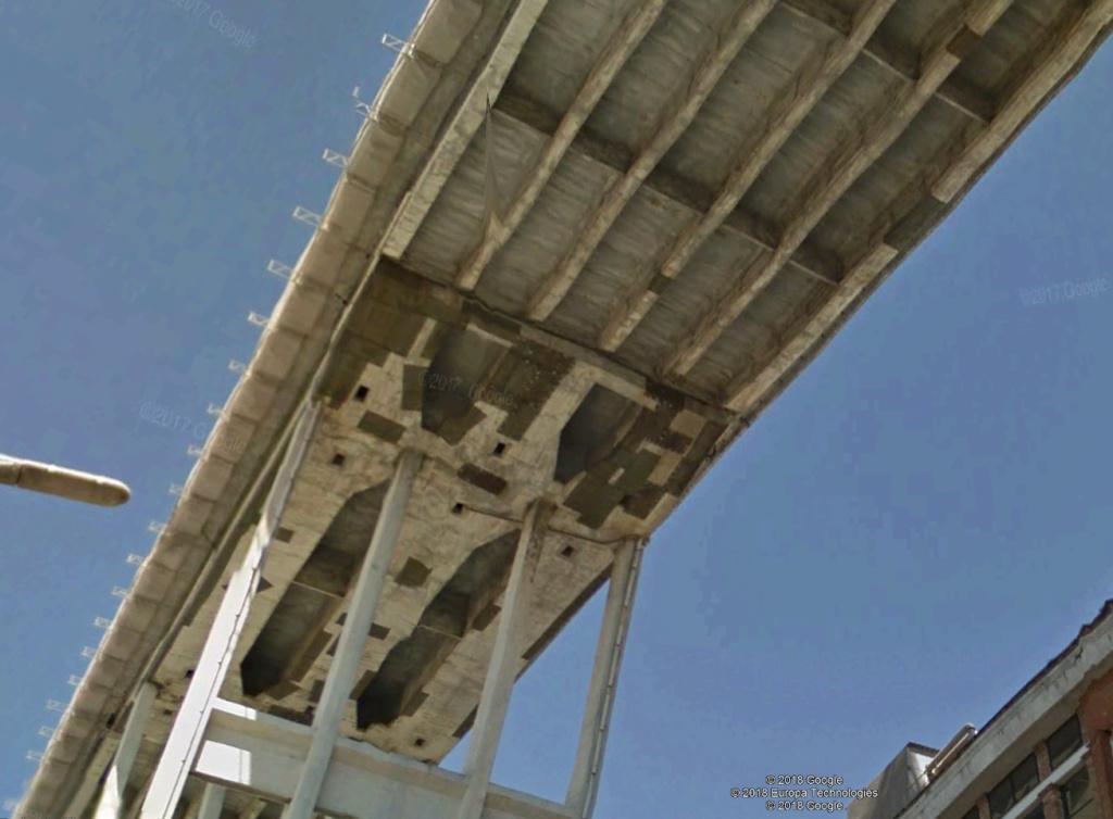 ACTUALITE : Le pont Morandi à Gènes (autoroute A10) s'est écroulé Ital110