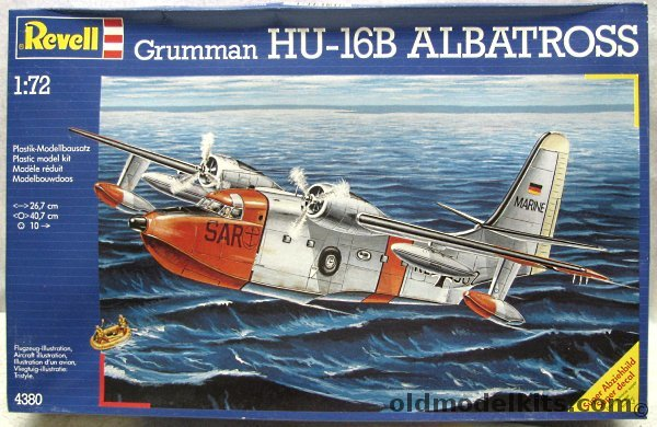 montage kit trompeter 1/48 , GRUMMAN ALBATROSS  HU 16A Revell10