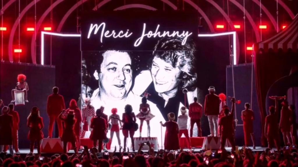 LES CONCERTS DE JOHNNY 'TOURNEE D'ENFOIRES, ZENITH 1989' Videof10