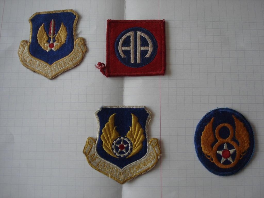 insigne 82e Airborne, 8th Air Force, commandos, ect. Dsc04714