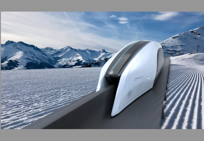 Un train rétro-futuriste et made in France en réponse à l'Hyperloop 118