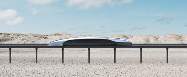 Un train rétro-futuriste et made in France en réponse à l'Hyperloop 121