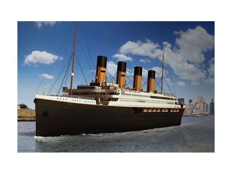 La réplique du Titanic devrait prendre la mer en 2022 612