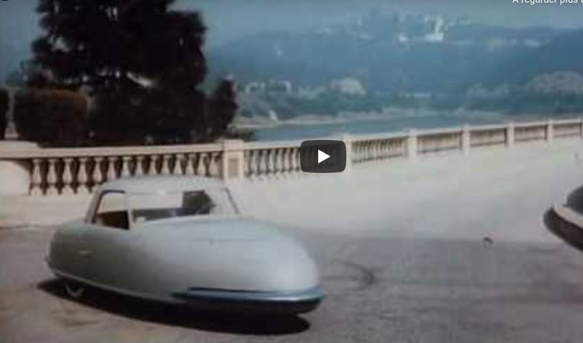 L'histoire incroyable de cette voiture fusée construite en 1948 Descha93