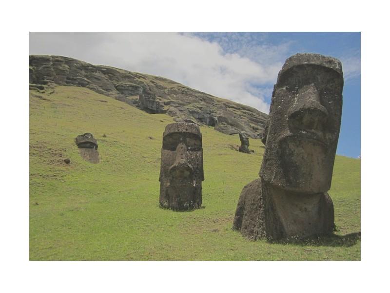 On sait enfin à quoi servaient les statues de l'île de Pâques Er18
