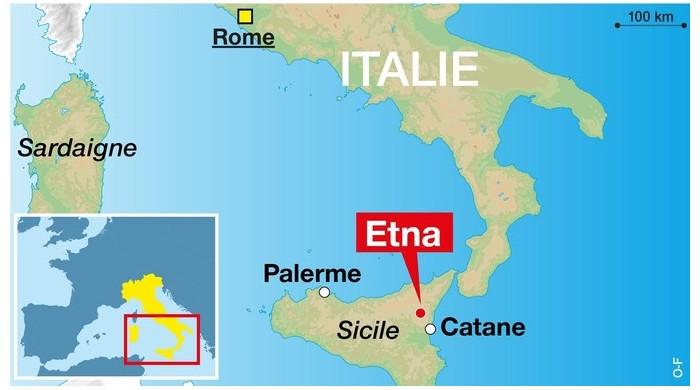 Le volcan l'Etna risque de provoquer un tsunami Er22