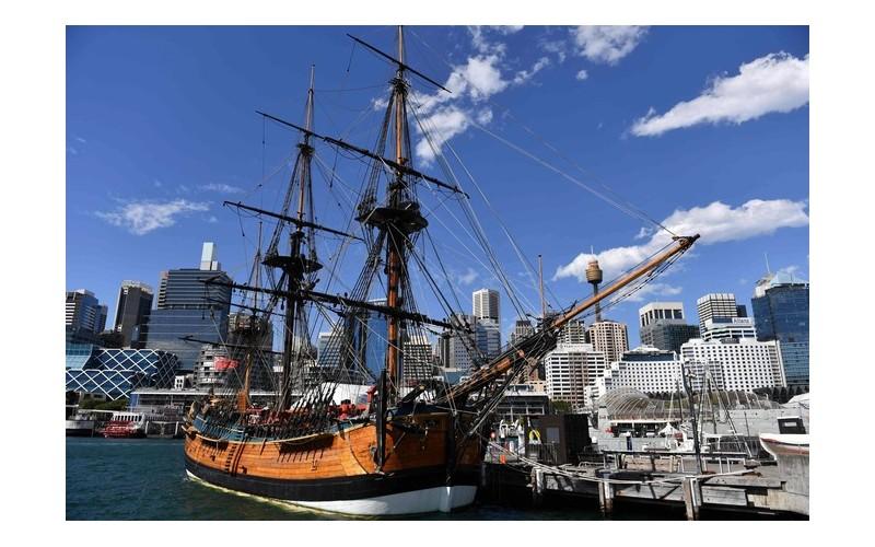 250 ans après, l'épave du capitaine Cook retrouvée ? G27