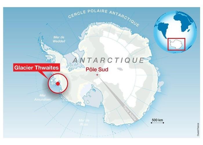 En Antarctique, un monstrueux glacier fond à une vitesse inquiétante K12