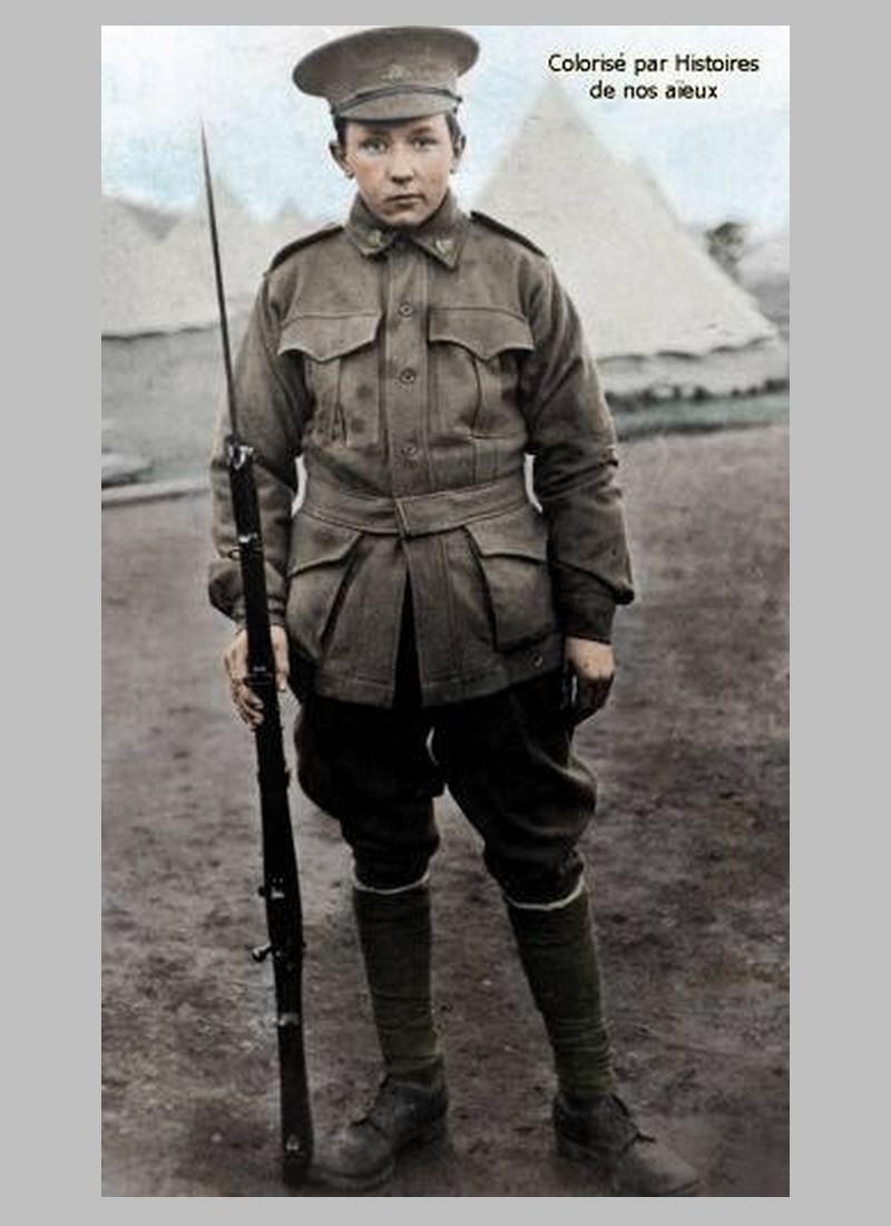 Alec Campbell, un soldat australien de 16 ans sur le front de Gallipoli Sans1016