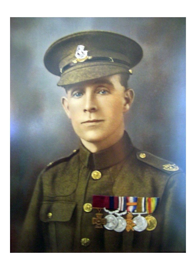 Henry Tandey, l'homme qui aurait pu tuer Hitler pendant la première guerre mondiale. Sans1018