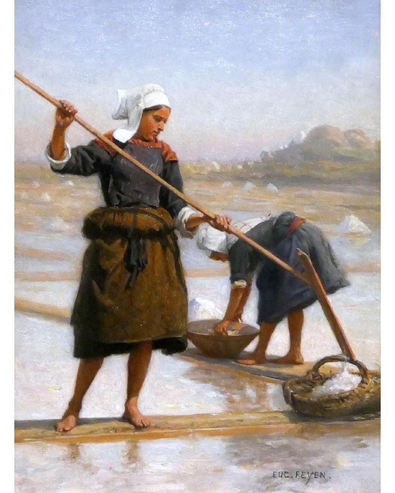 Sel. L'or blanc qui fit la richesse de la Bretagne  Sans1025