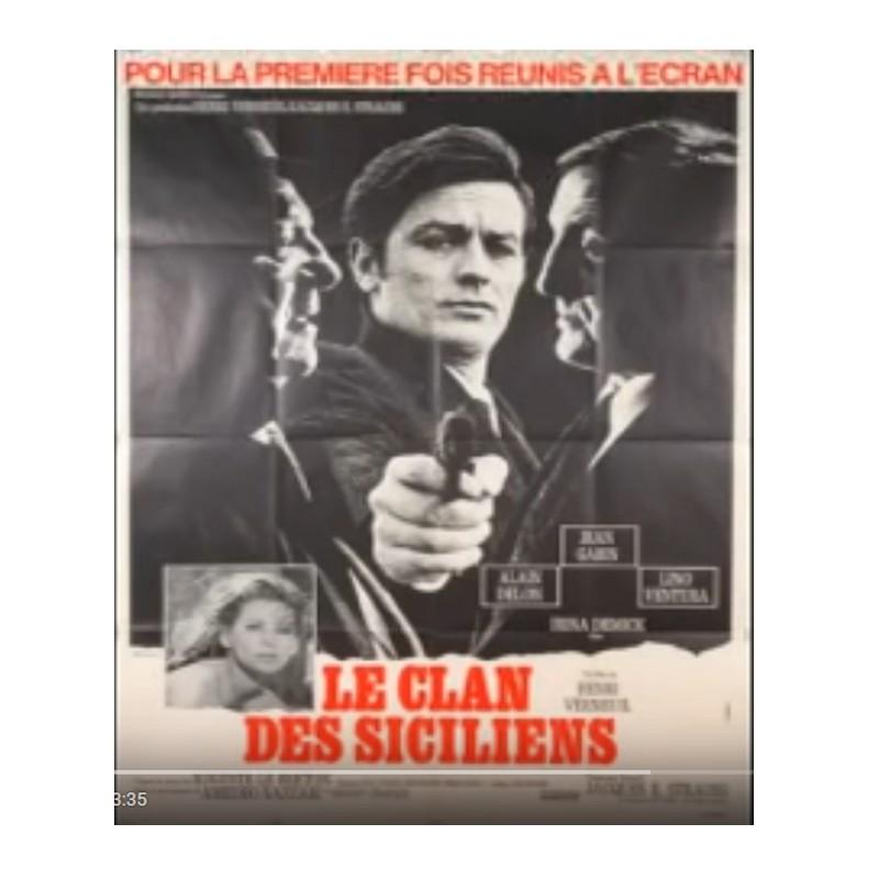 Musique film - Le clan des siciliens 1969 ( Jean Gabin & Lino Ventura & Alain Delon ). Sans1027