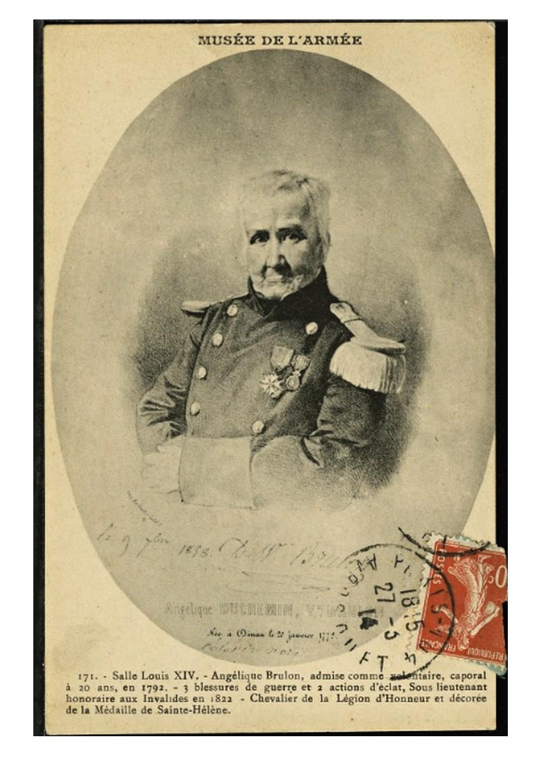 Marie-Angélique Brûlon. Une Bretonne sous l'uniforme des armées révolutionnaires Sans1038