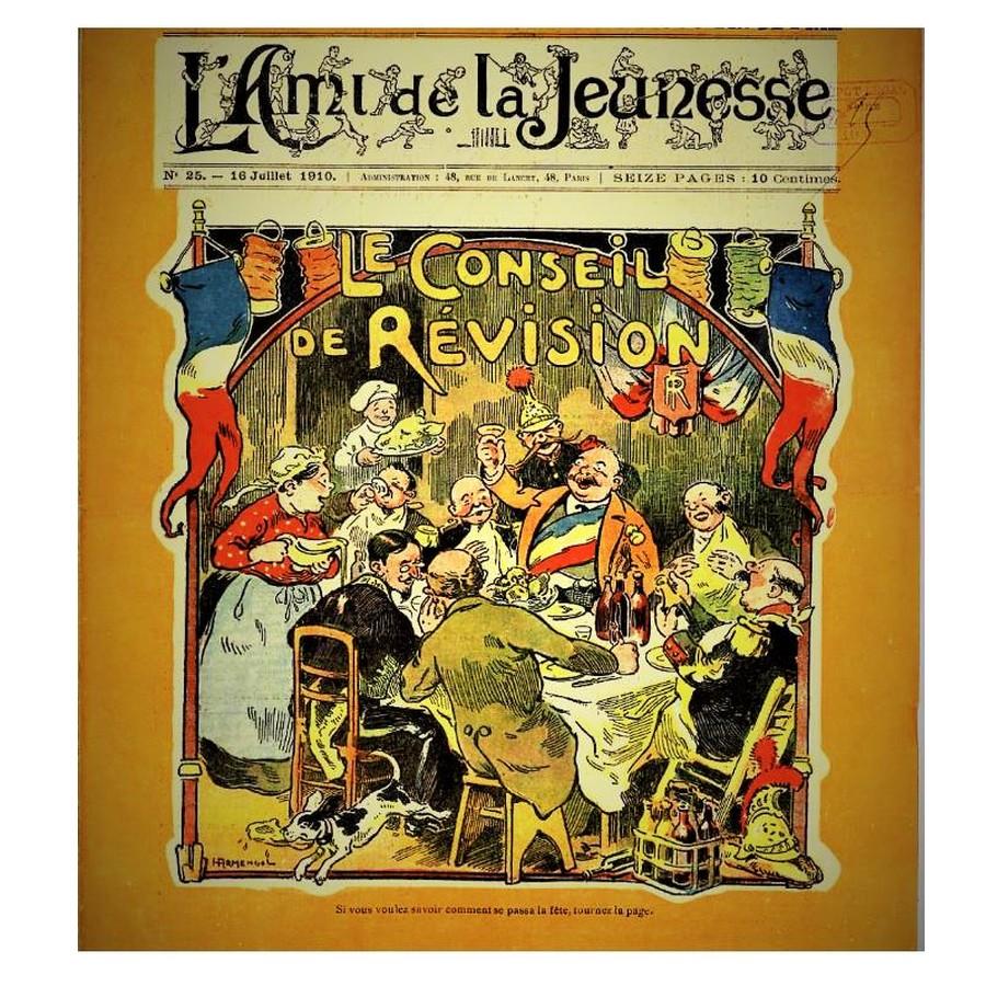16 JUILLET 1910 SOUVENIR de la revue L'AMI DE LA JEUNESSE  Sans1100