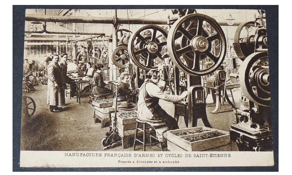 Manufrance est une célèbre et emblématique entreprise stéphanoise Sans1214