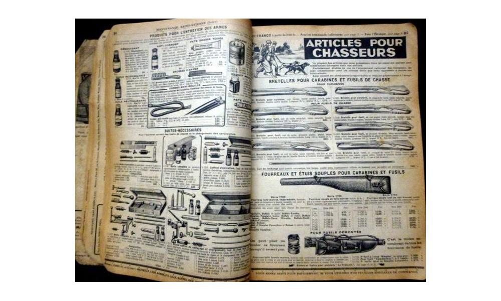 Manufrance est une célèbre et emblématique entreprise stéphanoise Sans1215