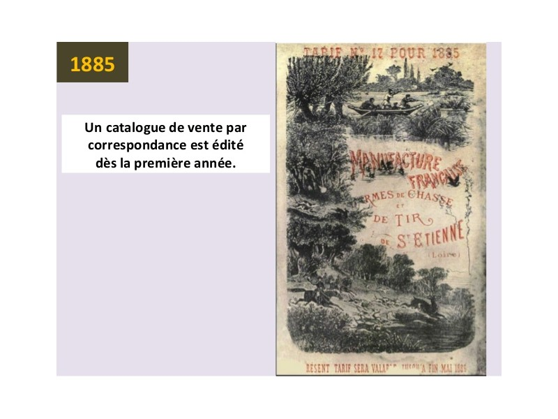 Manufrance est une célèbre et emblématique entreprise stéphanoise Sans1223