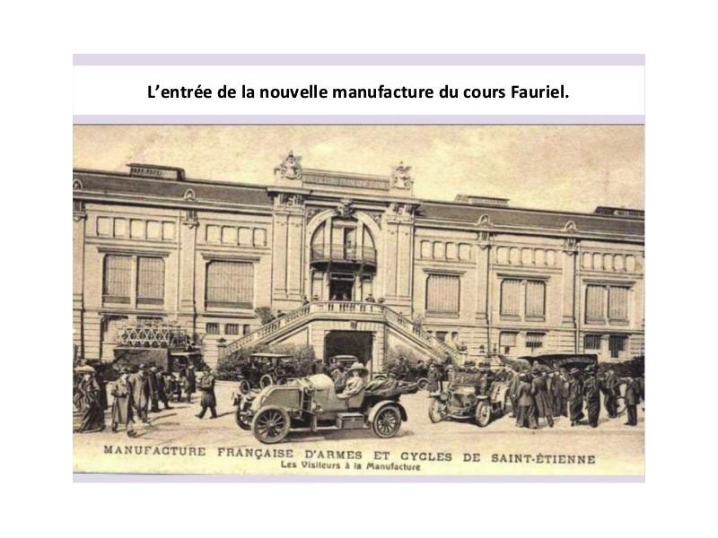 Manufrance est une célèbre et emblématique entreprise stéphanoise Sans1231