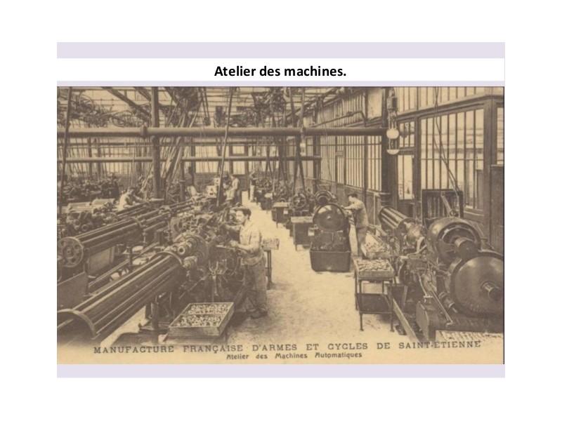 Manufrance est une célèbre et emblématique entreprise stéphanoise Sans1238