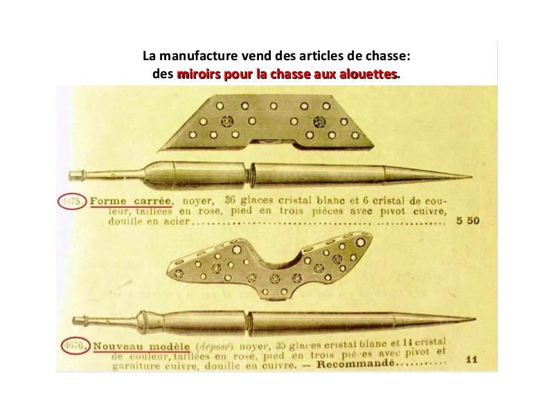 Manufrance est une célèbre et emblématique entreprise stéphanoise Sans1244