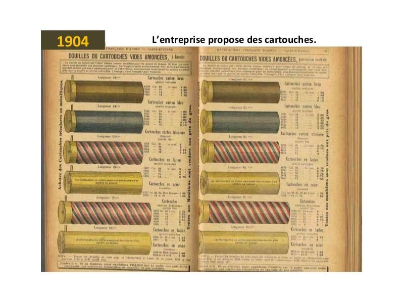 Manufrance est une célèbre et emblématique entreprise stéphanoise Sans1246