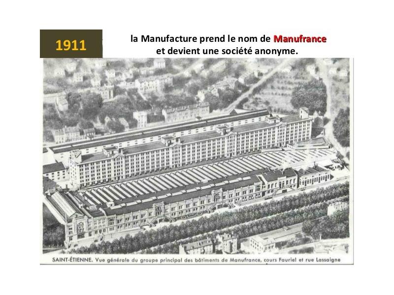 Manufrance est une célèbre et emblématique entreprise stéphanoise Sans1251