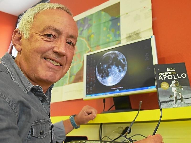 Charles Frankel. L'ami des astronautes qui ont marché sur la Lune Sans1291
