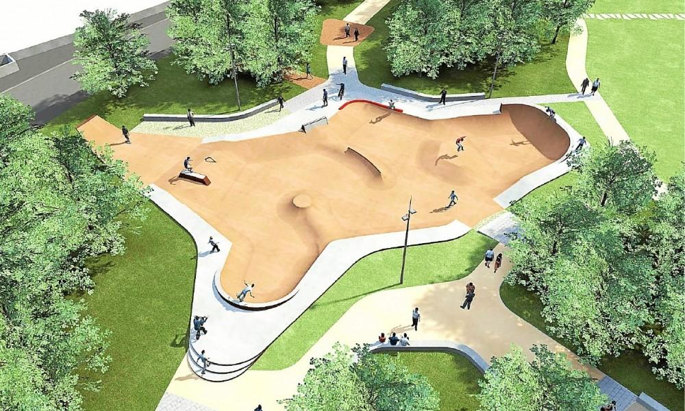 Saint-Brieuc. Le skatepark des Promenades ouvrira avant l'été Sans1295