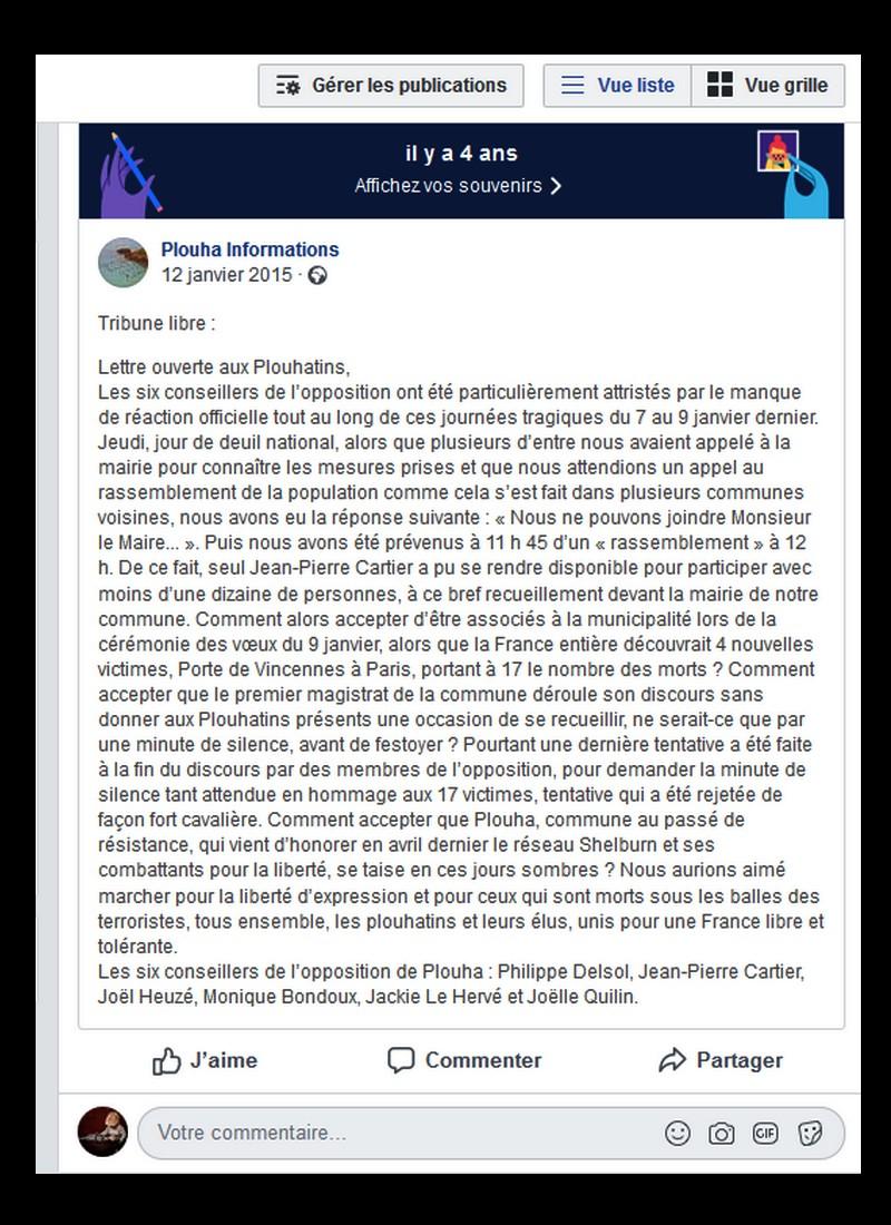 RAPPEL D'UNE TRIBUNE LIBRE DE 2015  Sans1316