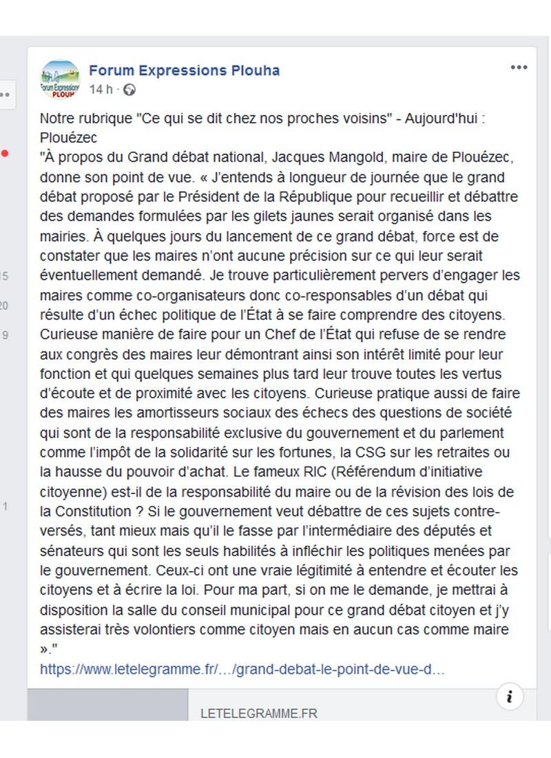 RAPPEL D'UNE TRIBUNE LIBRE DE 2015  Sans1322