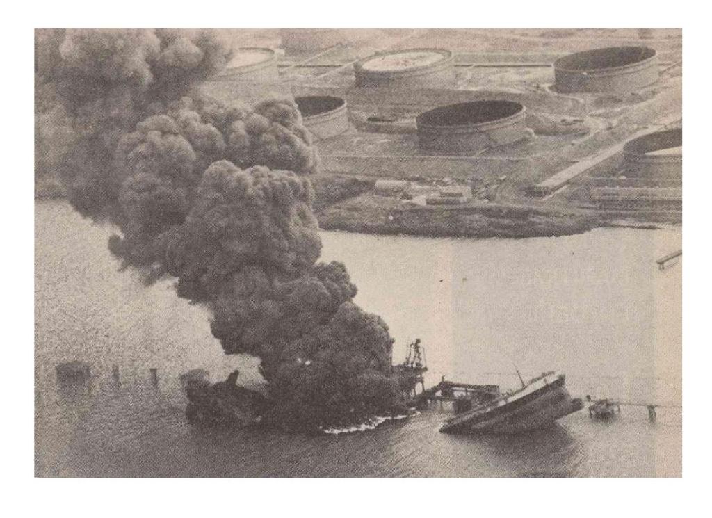 Tragédie en janvier 1979 : 50 morts dans l'explosion du pétrolier le Bételgeuse Sans1337
