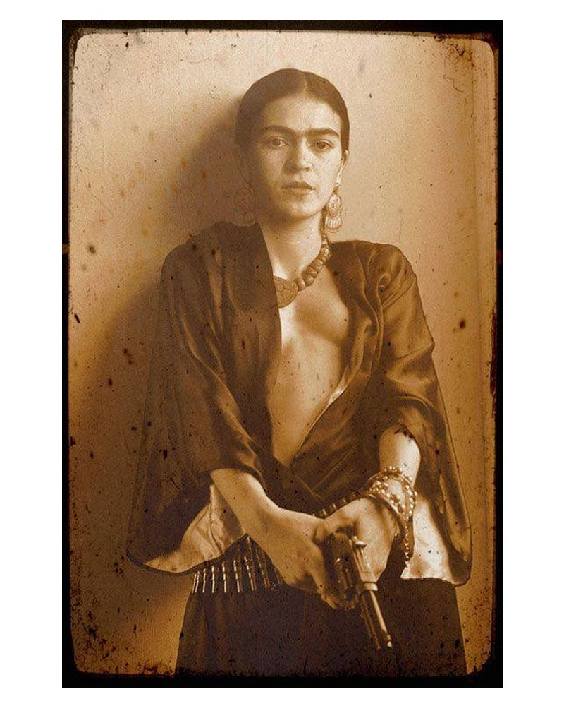 1939, Frida Kahlo parle de Breton Sans1407