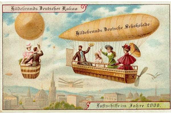 Comment nos ancêtres imaginaient-ils l'avion du futur ? Sans1533