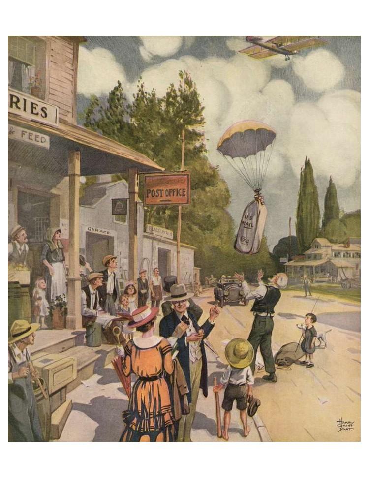 Comment nos ancêtres imaginaient-ils l'avion du futur ? Sans1541