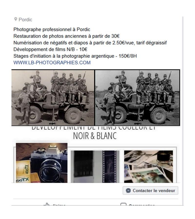 A PORDIC PHOTOGRAPHE Restauration de photos anciennes/Numérisation de négatifs et diapos/Stages Sans1580